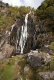 View To Aber falls Stock Image