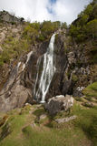 View To Aber falls Stock Photos