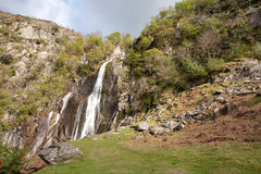 View To Aber falls Stock Photography