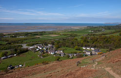 View to Abergwyngregyn Royalty Free Stock Photo