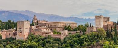 View to alhambra Stock Photos