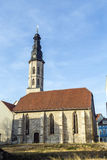View to Allerheiligenkirche at Royalty Free Stock Photography