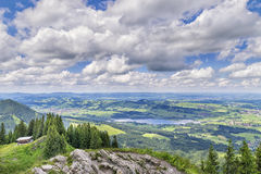 View to Allgaeu Royalty Free Stock Photos