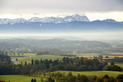 View to the Alps Royalty Free Stock Photos