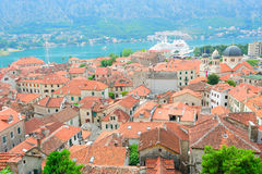 View to the ancient town of Kotor Royalty Free Stock Photo