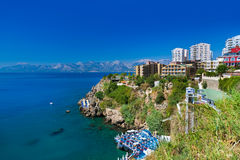 View to Antalya (Turkey) Royalty Free Stock Photo