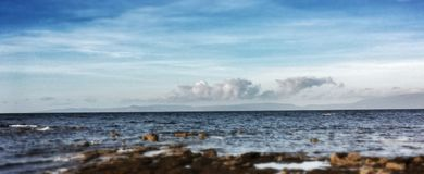 The view to Arran Royalty Free Stock Image