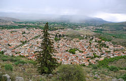View to the Athens. Royalty Free Stock Image