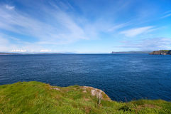 View to the Atlantic Ocean,Ireland Stock Photos