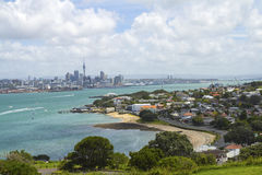 View to Auckland City from North Head Auckland New Zealand Stock Photos