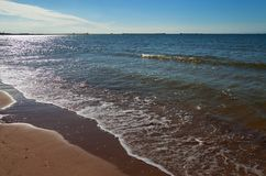 Calm Baltic sea. Royalty Free Stock Photography