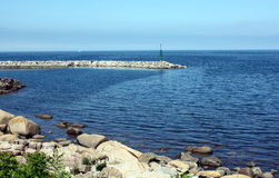 View to the Baltic Sea Stock Images