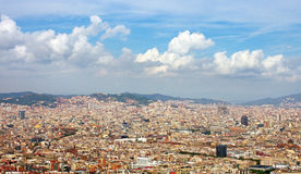 View to Barcelona. Royalty Free Stock Image