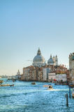 View to Basilica Di Santa Maria della Salute in Venice Royalty Free Stock Photo