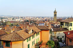 View to the Bergamo. Royalty Free Stock Photography