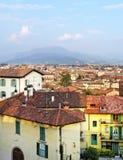 View to the Bergamo. Stock Photo