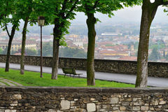 View to the Bergamo Royalty Free Stock Photo