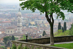 View to the Bergamo Royalty Free Stock Photography