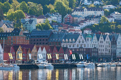 View to Bergen in Norway Royalty Free Stock Photography
