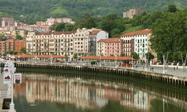 View to the Bilbao. Stock Image
