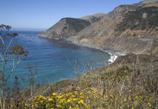 View to Bixby Bridge California Royalty Free Stock Photo