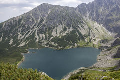 View to Black Pond from Tatra-Mountains Stock Photos