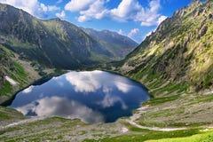 View to Black Pond from Tatras Stock Photo