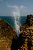 View to Blow Hole aka Hummanaya, Kudawella, Sri Lanka Stock Photography