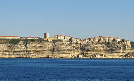 View to the Bonifacio. Stock Photography