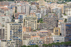 View to the buildings of Monte Carlo in Monaco, Monaco. Stock Photo
