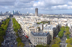 View to the business area in Paris Stock Image