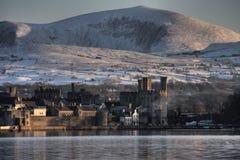 View to Caernarfon Royalty Free Stock Photo
