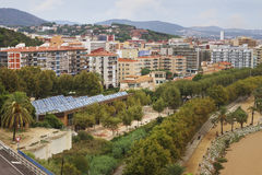 View to the Calella. Royalty Free Stock Images