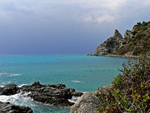 View to Capo Vaticano Royalty Free Stock Images