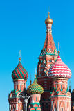 View to Cathedral of Vasily the Blessed Stock Photo