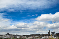 View to cityline of Queretaro city Royalty Free Stock Photography