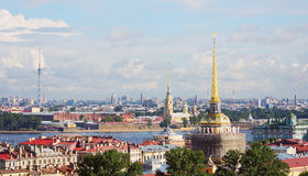 View to the cityscape of Saint-Petersburg, Russia Royalty Free Stock Photos