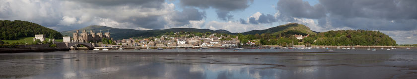 View to Conwy Royalty Free Stock Photo