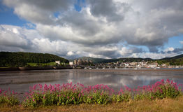 View to Conwy Royalty Free Stock Photography