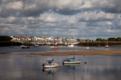 View to Conwy Stock Image