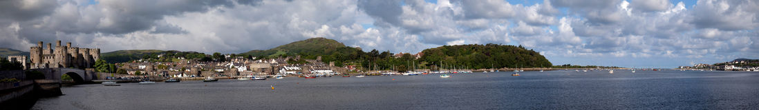 View to Conwy Stock Photos