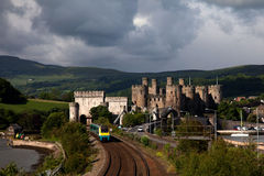 View to Conwy Stock Images