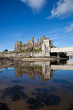View to Conwy castle Royalty Free Stock Photography