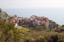 View to Corniglia Royalty Free Stock Photo