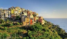 View to Corniglia Stock Photography