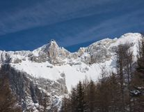 View to the Dachstein. Austria Royalty Free Stock Photo
