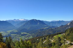 View to dachstein glacier Stock Image