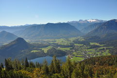 View to dachstein glacier Royalty Free Stock Photo