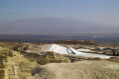 View to Dead Sea Works ,Israel Stock Photography