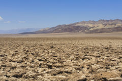 View to Devil's Golf Course, Death Valley Royalty Free Stock Photography